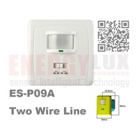 voice and light control pir switch with 2 wires