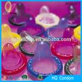 Venta al por mayor 2015 mejor calidad 100% natural de látex de color de la imagen del condón