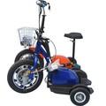 Fuerte eléctrico de tres ruedas scooter eléctrico, los adultos off road scooter eléctrico, easy rider scooter eléctrico