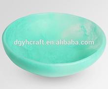 China Supplier Medium Resin Beetle Bowl - Jade Pool Swirl