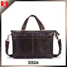 high end men genuine leather office bags imported bags