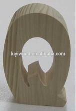 children study alphabet unfinished design safety wooden letters wholesale