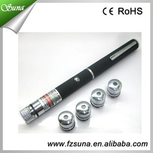 Wholesale Price Red Ray Beam Laser Pointer Pen with 5 Different Laser Patterns