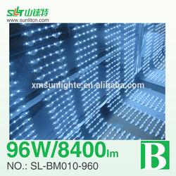 Super bright led backlight, single sided led lattice