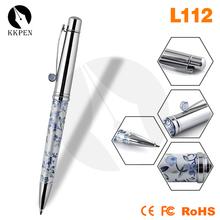 Shibell wooden pen holder with clock plastic disposable ballpoint pen laser pen 200mw