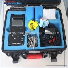 portable ultrasonic flow meter for flow rate flow totalizer measuring