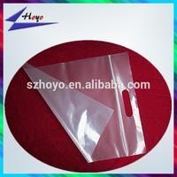 best selling zip lock plastic pe cloth packing bag with handler