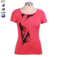 Cheap High quality cotton ladies girls t shirt karachi