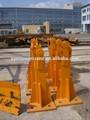 Fixação ângulo- guindaste de torre de peças de reposição