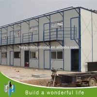 prefabricated house used for office caravan