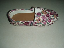 nice design slip-on canvas shoes