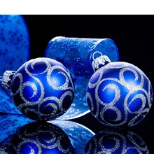 2015 Christmas Decoration Supplies Type christmas ball for Russian Federation