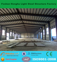 Good heat and sound insulated comfortable prefabricated warehouse/workshop
