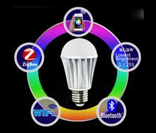 Internet remotely controlled wifi dimmable 220-240v 7w 500lumen 3000k/4000k/6000k