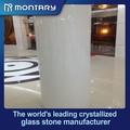 Nano cristal blanco columnas