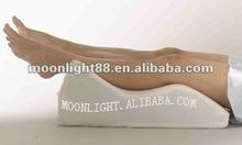 memory foam led cushion,nursing leg cushion