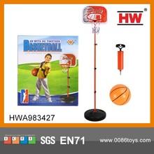 Kids Indoor Sport Set Plastic Basketball Hoop Stand