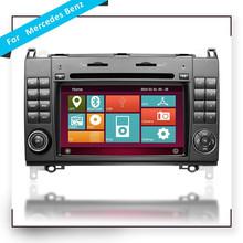 Wince platform Touchscreen Car radio for Mercedes Benz W169 W245