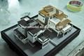 3d visualisation architecturale, le rendu, intérieur et de conception du paysage, la modélisation, plan de la maison des modèles réduits