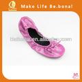 Barato sapatos de ballet dobráveis dobrável balelt sapatos fashon senhora sapatos 2015
