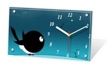 Promotion unique gift customizable art desk clock