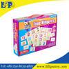Puzzle play set time bingo toys
