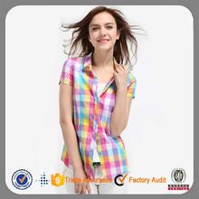 moda 2015 top nuevo estilo de última moda blusas para las mujeres