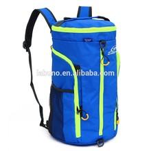 A new multifunctional bucket backpack folding bag