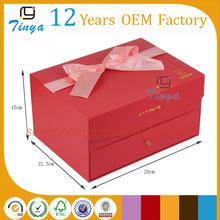 Beautiful cake and cupcake drawer box packaging