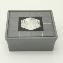 New 800mA landscaping solar lamp led ground light