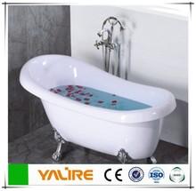 Free standing simple bathtub