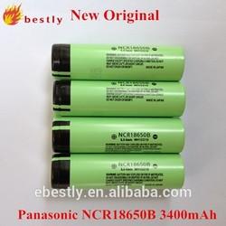 New Original NCR18650B 3400mah high capacity Rechargeable Batteries For Panasonic 18650 batteries electric bike
