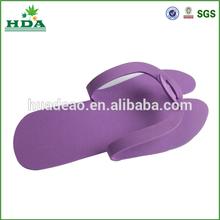 2015 new model EVA foam disposable slippers, EVA flip flops sandals