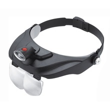 High quality head Magnifier LED loupe repair magnifying glasses