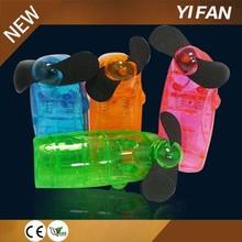 plastic mini water spray fan