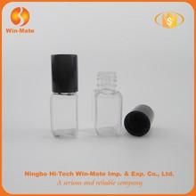 Attractive ! elegant transparant PETG nail polish bottle