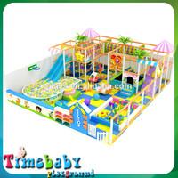 Cheap daycare fun park equipment, playground soft ground for children