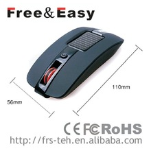 new idea slide wireless mouse good performance solar mouse