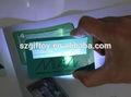 nouveau format carte de crédit loupe lentille de fresnel en plastique