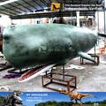 Mon Dino-M10 parc aquatique vie taille whale sculpture