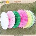 el patrón de diferentes de papel de seda ventilador de artesanía de flores de la boda