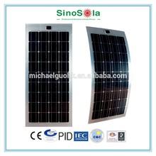 Easy Light Weight flexible thin film solar panel for Boat Caravan Golf Car RV Kit Solar System home with TUV/PID/CEC/CQC/IEC/CE