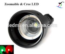 ML-BZ01 Economic 18650 300LM Hiking LED Flashlight Focus Torch light Lamp Zoom