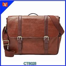 Classic Big Capacity Durable Genuine Leather Shoulder Strap Bag Men