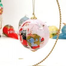 craft christmas glass ball,christmas nativity glass ball,home deco glass christmas ball