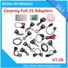 Radios,Odometers,Dashboards,Immobilizers Car Repair Tools Car Prog Carprog V7.28 Full Set 21 Adapters