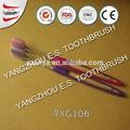 venta al por mayor de viaje de tamaño de pasta de dientes y cepillo de dientes