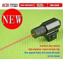 Tactical Scope,Red Dot Mini Laser Sight for gun,Laser rifle scope for Pistol Handgun Airsoft 20-22mm Rail (BOB-R28)