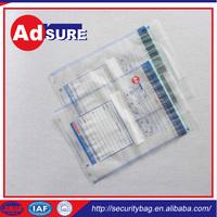 tamper stickers/custom coin bag/bank cash envelopes