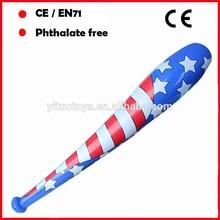 PVC toys inflatable baseball bat for promotion